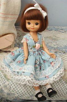 "DRESS SET fits 8"" Tiny Betsy McCall doll, by TLC!"