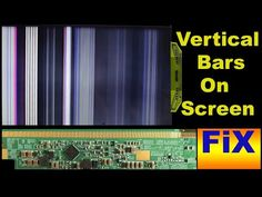 How to fix vertical bars on LED TV Diy Electronics, Electronics Projects, Sony Led Tv, Computer Maintenance, Lcd Television, Motivational Quotes Wallpaper, Electronic Circuit Projects, Led Board, Tv Panel