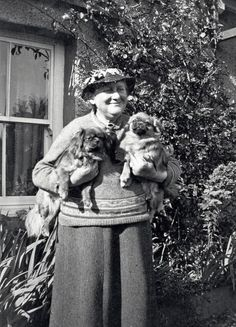 "Beatrix Potter at the original ""Cosy Cottage""  