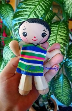 Mexican Crafts, Mexican Art, Biscuit, Pasta Flexible, Cold Porcelain, Cute Dolls, Amigurumi Doll, Crochet Dolls, Polymer Clay