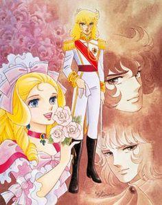 Lady Oscar (série TV) - Animebase - Animeland