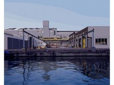 Alain Bublex, «Paysage 186 (Amsterdam Sheeler), 2014»