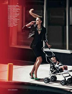 Maryna Linchuk in Vogue Russia May 2012 by Alexi Lubomirski
