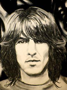 George Harrison♥♥ (beautiful art)