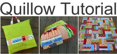 How to make a quillow or a quilt that folds into a pillow.Great gift!