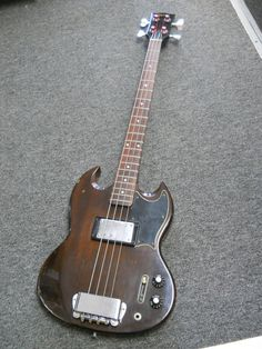 Vintage 1973 Gibson EB-4L Electric Bass Guitar Walnut Finish #Gibson