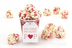 You Make My Heart Pop by Jenny Raulli of Bloom Designs for I Heart Naptime I am so looking forward to Valentine's Day.  My favorite part of this holiday is treating my loved ones to yummy homemade treats. You will have plenty of time to form balls but  make sure to work quickly.  My kids …