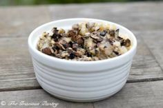 Clean Eating Mushroom and rice casserole- add chicken and broccoli and you've got a complete meal!
