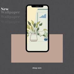 Window Plant iPhone Wallpaper