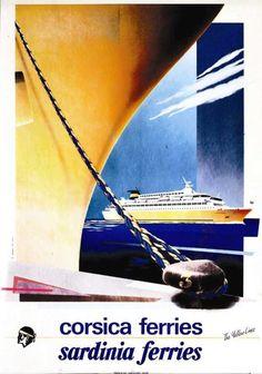 Corsica Ferries vers 1970 -