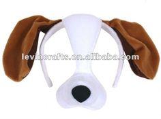 Lop-ear perro de peluche de la máscara-Máscaras de parte-Identificación del producto:569624590-spanish.alibaba.com