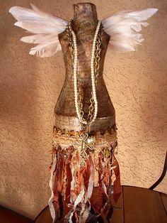 Explore Izabella Pierce's photos on Photobucket. Mannequin For Sale, Mannequin Art, Vintage Mannequin, Dress Form Mannequin, Mannequin Display, Dress Form Christmas Tree, Beauty Art, Jewellery Display, Bricolage