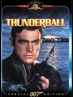 James Bond: Thunderball 007 played by: Sean Connery Bond Girl: Claudine Auger (Domino) Directed by: Terrence Young All James Bond Movies, James Bond Movie Posters, Classic Movie Posters, Ken Jeong, Dave Bautista, Pierce Brosnan, Roger Moore, Sean Connery Bond, Poster