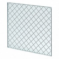 Fire Rated Wired Glass 6inx21in