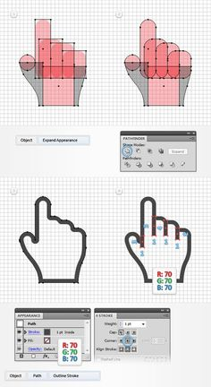 Pixel Perfect Hand Cursors
