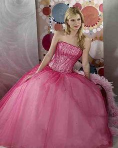 Pink wedding dresses. Pink wedding dress, Pink wedding gowns.
