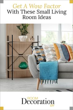 Here are some helpful tips to make a small living room pop… Diy Room Decor, Living Room Decor, Living Room Furniture Arrangement, Living Room Designs, Small Living Rooms, Living Room On A Budget, Decorate Your Room, Family Room Decorating, Helpful Tips