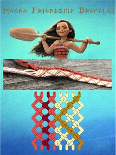 Make a Moana Friendship Bracelet