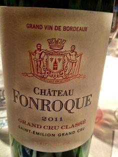 El Alma del Vino.: Château Fonroque 2011.