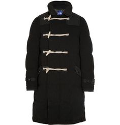 Junya Watanabe Duvetica Down-Filled Wool Duffle Coat | MR PORTER