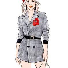 #inspiration #jeanpaulgaultier #gaultierparis #couture #pfw #fashionillustration #fashion #fashionillustrator #lenaker #details #runway