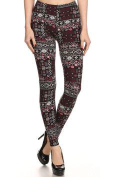 Feminine leggings from Abby and Anna's Boutique. ($15 for one size, plus size leggings for $17, & girls leggings for $13)