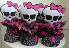 centro de mesa temático Cumple Monster High, Monster High Birthday, Monster High Party, Birthday Fun, Birthday Parties, Dulceros Halloween, Birthday Centerpieces, Holidays And Events, Party Themes