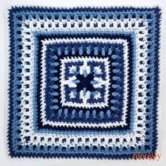 – Afghan Block by Oombawka Design - Moogly - - Block by Oombawka Design is geometric, clever, and so fun to watch come together! Get the patterns for this free CAL on Moogly! Crochet Butterfly Free Pattern, Crochet Motif Patterns, Crochet Blocks, Granny Square Crochet Pattern, Crochet Diagram, Crochet Chart, Crochet Squares, Crochet Basics, Crochet Granny