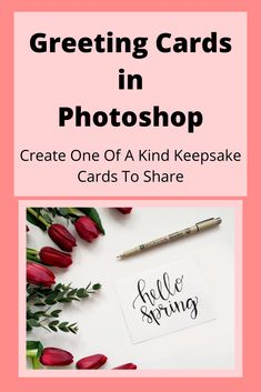A homemade greeting card is something people cherish. In this class you'll learn to create custom greeting cards for any occasion using photoshop as the primary software tool. | Art and Design | Adobe Photoshop | Graphic Desgin | Mixed Media Art #artanddesign #photoshop #afflink