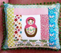 Matryoshka pillow