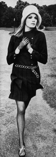 Black little dress, Willy van Rooy photographed by Helmut Newton, 1967 | The House of Beccaria