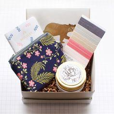 Mignon gift box no. 8 (flora and fauna)