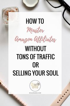 Learn how to master Amazon Affiliates! Over the course of 6 modules and 160+ pages, this ebook will teach you how to become an Amazon Affiliates expert and build a successful money-making blog without tons of traffic or selling your soul. #amazon #affiliate #blog #blogging #afflink #blogger