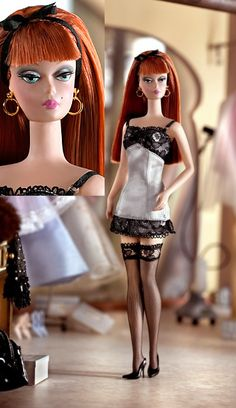 Robert Best The Lingerie Barbie® Doll #6.  Limited Edition Designed by: Robert Best Release Date: 2/1/2003