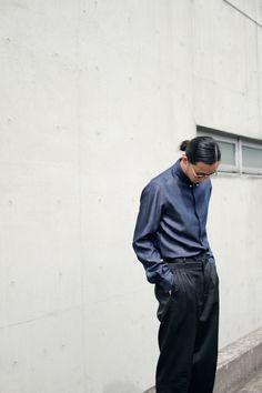 Denim fusion. Model Shohei Yamashita ( 山下翔平) in  VersusVersace for Drop  Tokyo. Get the FW15 collection on versusversace.com  VersusTakesTokyo ... 3d128b32f87
