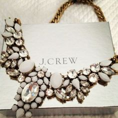 JCrew necklaces- J.crew crystal statement necklace http://www.justtrendygirls.com/j-crew-crystal-statement-necklace/