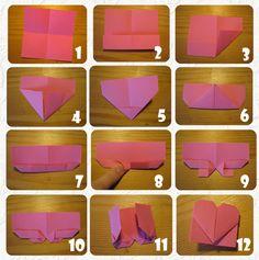 origami herz lesezeichen basteln pinterest herz lesezeichen origami herz und origami. Black Bedroom Furniture Sets. Home Design Ideas
