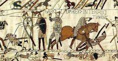 Épisode extrait de la Tapisserie de Bayeux