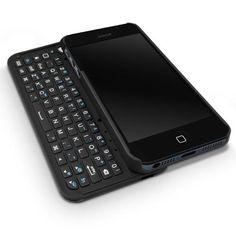 Design de produto + Inspiração :     Uma idéia boa da Boxwave, criar um teclado QWERTY para o iPhone, para aqueles que não se acostumaram com o teclado no touchscreen e facilita em alguns momentos também.