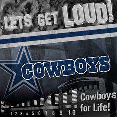 Let's get loud, Cowboys Fans!