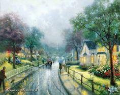 Paintings | Thomas Kinkade Paintings, Thomas Kinkade Paintings 25.jpg