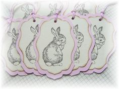 Baby Bunny Tags