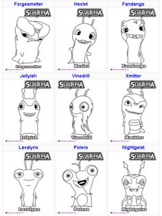 http://skgaleana.com/slugterra-printables-activities-and-coloring-pages/