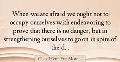 Hale White Quotes About Fear - 21788