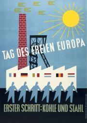 Seit diesem Plakat aus dem Jahr 1952 sind viele Schritte gefolgt – einige davon zu schnell.(Bild: Interfoto / Keystone)