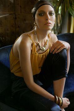 Photo by Enzo Orlando ModelElena @ silent models paris .  Style by @ Charlotte Msellati #fashion #editorial…