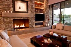 Contemporary Phoenix Home contemporary living room