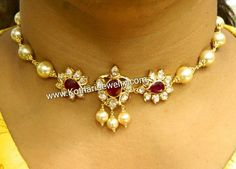 Dm Antic Jewellery, India Jewelry, Bead Jewellery, Latest Jewellery, Pearl Jewelry, Antique Jewelry, Gold Jewelry, Jewelery, Gold Necklace