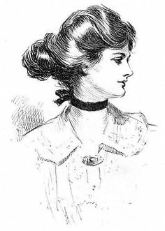 Charles Dana Gibson: Daughter of the South, ca. 1905