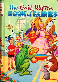 The Enid Blyton Book of Fairies by jollywolly on Etsy, $12.00